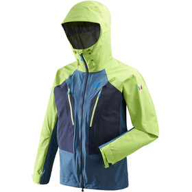 Millet Trilogy V Icon Dual GTX Pro Jacket Men Indian/Acid Green